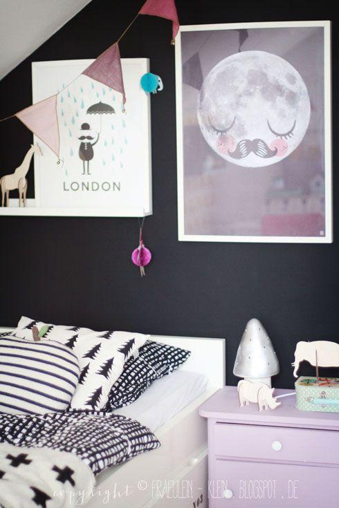 Una habitación moderna llena de detalles encantadores.  #DecoracionInfantil