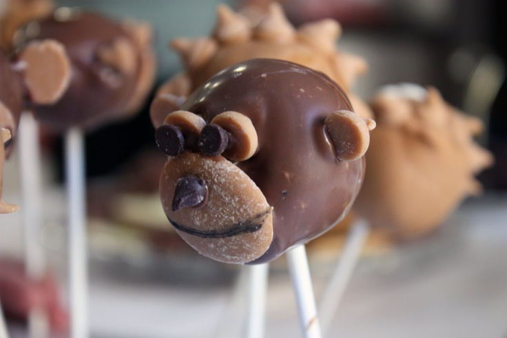 how to make monkey cake pops - Google Search