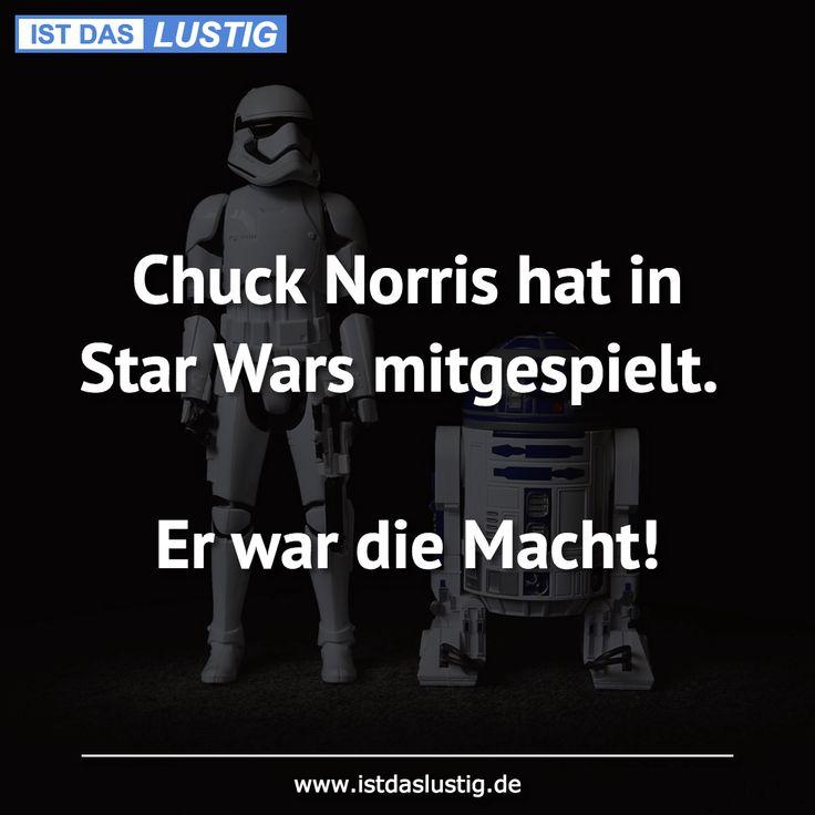 Chuck Norris hat in Star Wars mitgespielt.  Er war die Macht!