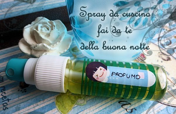 spray cuscino fai da te