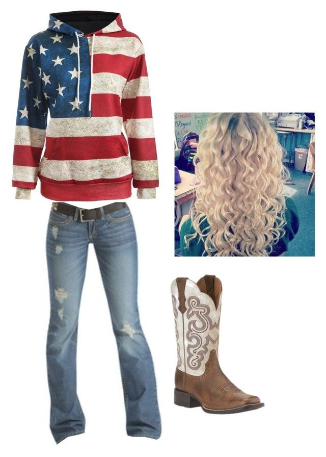 """""""I HAVE MY ACCOUNT WORKING"""" by harleyrotey20 ❤ liked on Polyvore featuring Emerson and Ariat"""