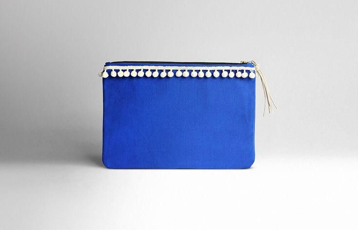 Turqueta Handmade - Majorelle pouch bag (In stock / 36€)