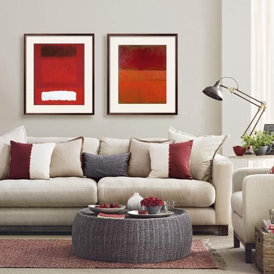 Smart living room with warm accents   Simple designs for easy living room makeovers   Room Ideas   PHOTO GALLERY   Ideal Home   Housetohome.co.uk