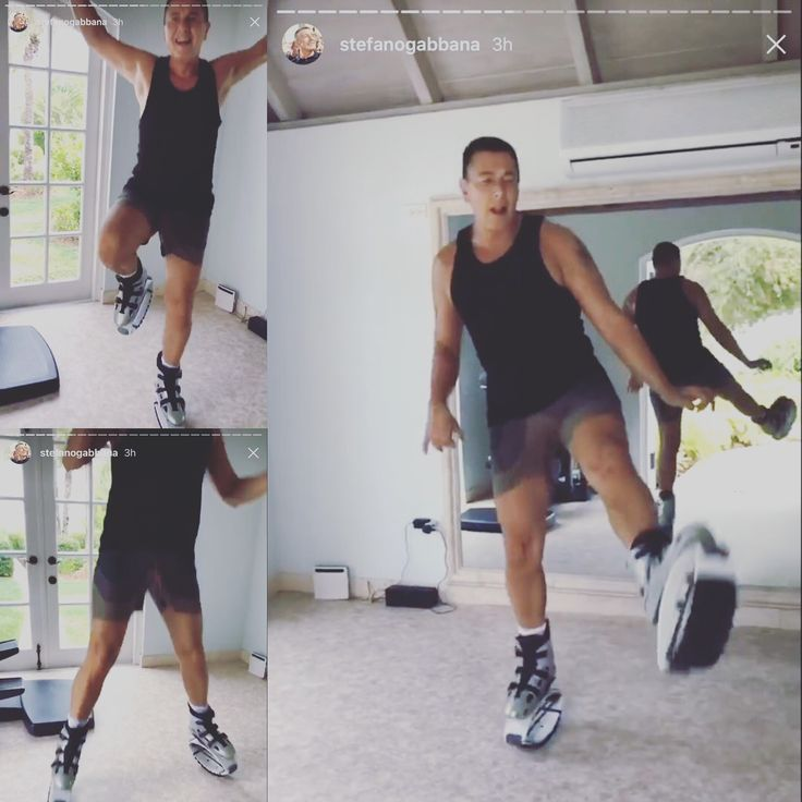 Anche #stefanogabbana indossa Kangoo Jumps lo sport più amato dalle Star .. #italia #sicilia #calabria #dolcegabbana  #stefanogabbana @kangoojumpsitalia  @kangoojumpsofficial #fitness #sport #fitness #D&G #milano #moda #riminiwellness #vip #star #top #moda @stefanogabbana