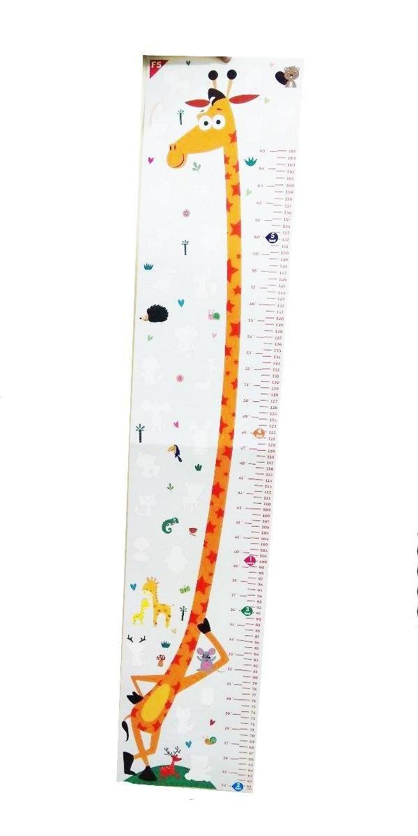 ملصق لمتابعة نمو الأطفال وقياس الطول شكل زرافة Room Office Supplies Supplies