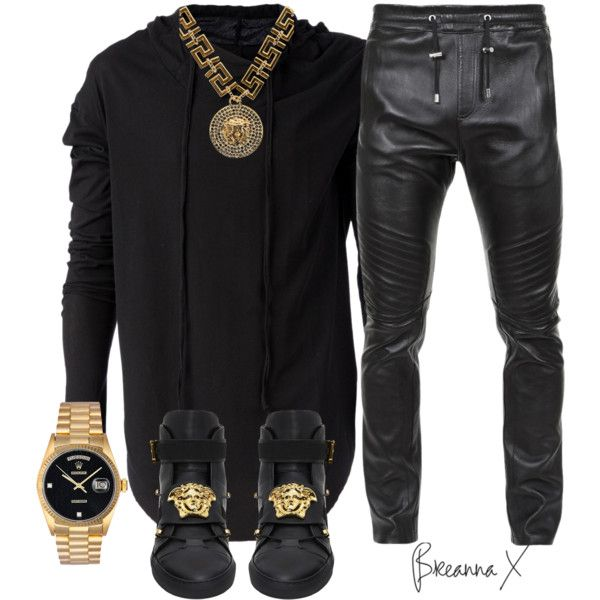 A fashion look from January 2017 featuring L'ÉCLAIREUR hoodies, Versace sneakers and Rolex watches. Browse and shop related looks.