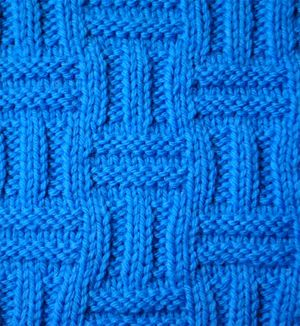 Enlarged Basket Stitch