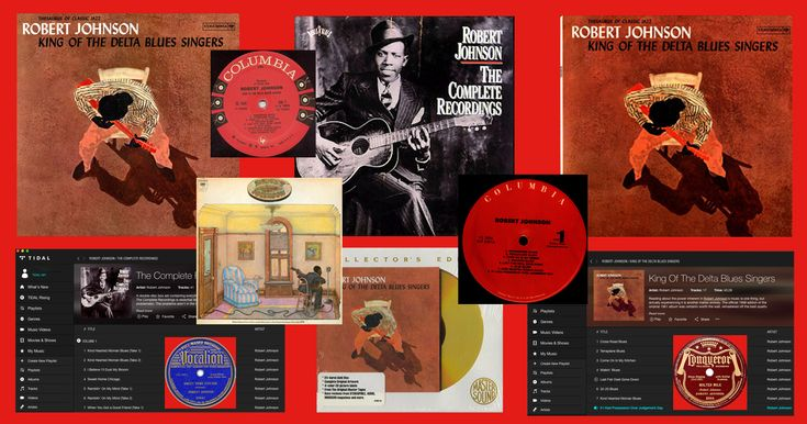 A look at 21st Century options for hearing classic 20th Century blues by the late great Robert Johnson.... #blues #robertjohnson #Tidal #streaming #CD #download
