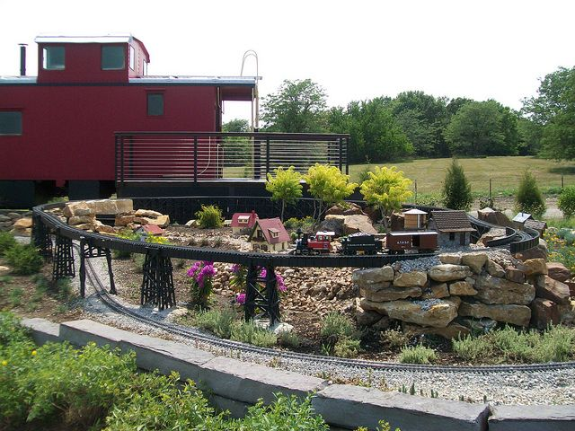 The Train Garden  at the OP Arboretum & Botanical Gardens: All Aboard for Fun. Blog by VisitOverlandPark, photo via Flickr.