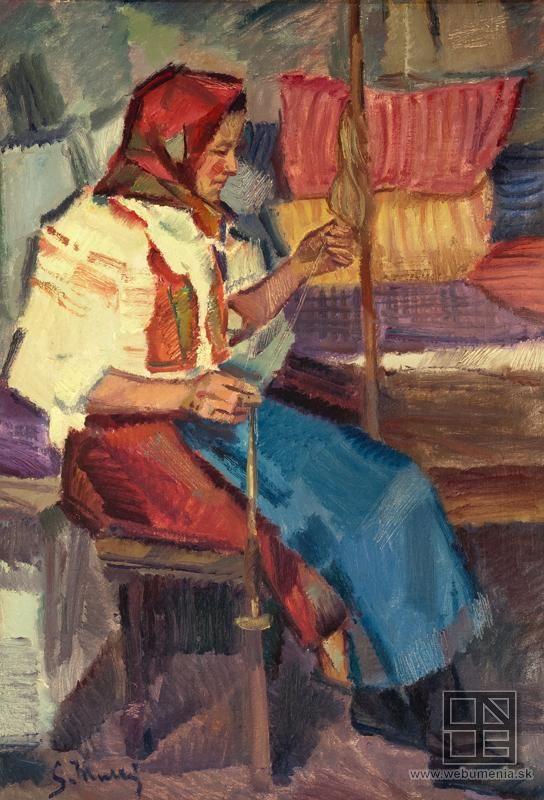 Gustáv Mallý: Priadka z Mokrého hája:1924 - 1944