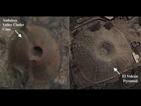 Close Encounters UFO: El Volcan: Pyramid in Peru Built to Look Like a Vo...