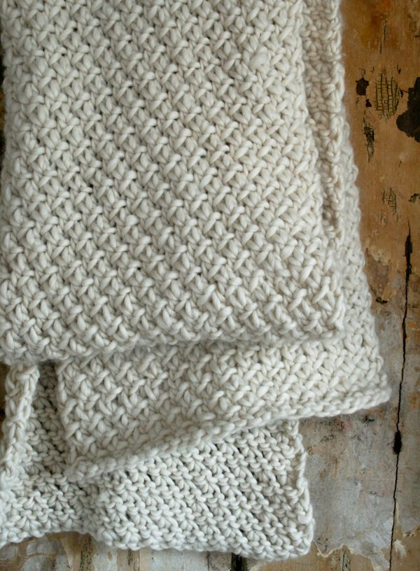 Knit Purl Afghan Patterns : Super Soft Merino Snowflake Scarf Purl Soho Purl Soho ...