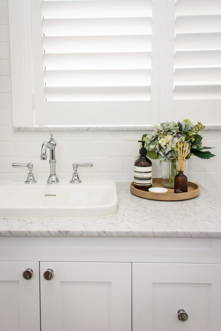 Considering a bathroom renovation? Check out this stylish inner city bathroom real reno in Sydney's Newtown by first time renovators Alyce and Nick. Bathroom design and styling.
