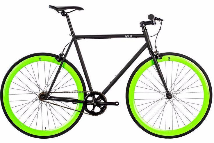 6KU Fixie Barcelona Steel Fixed Gear Bike