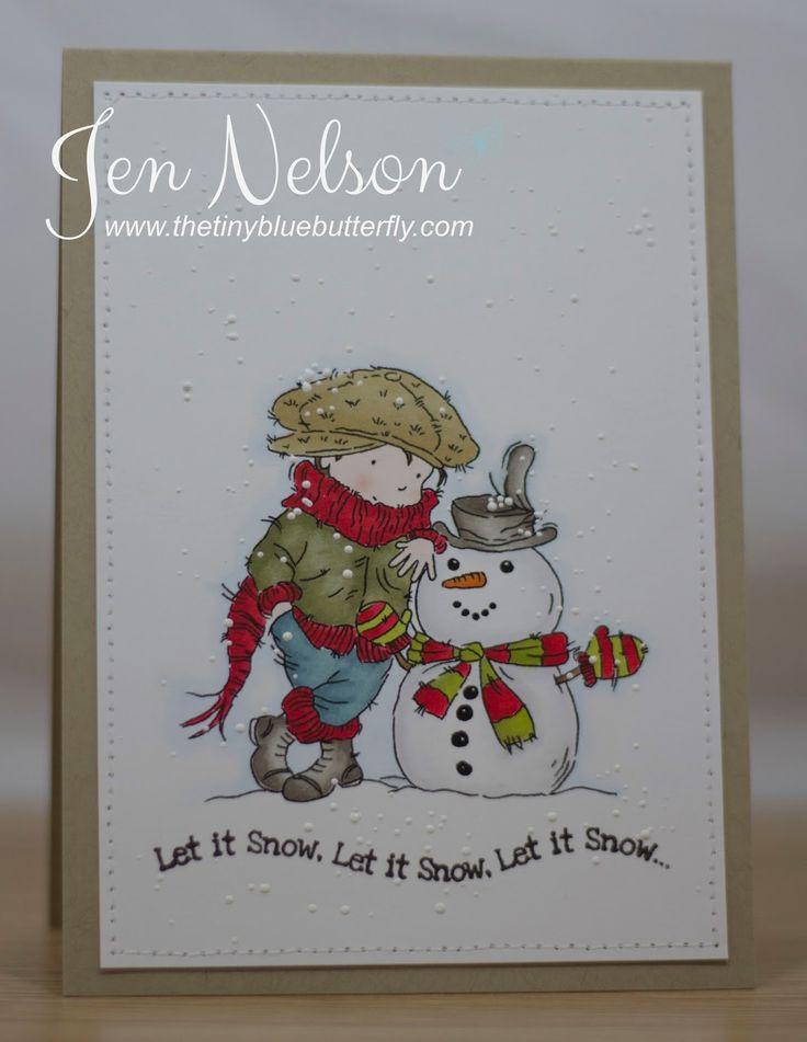 LOTV - My Snowman Friend by DT Jen