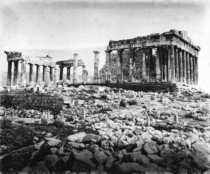 παλιά Αθήνα-–Παρθενώνας-