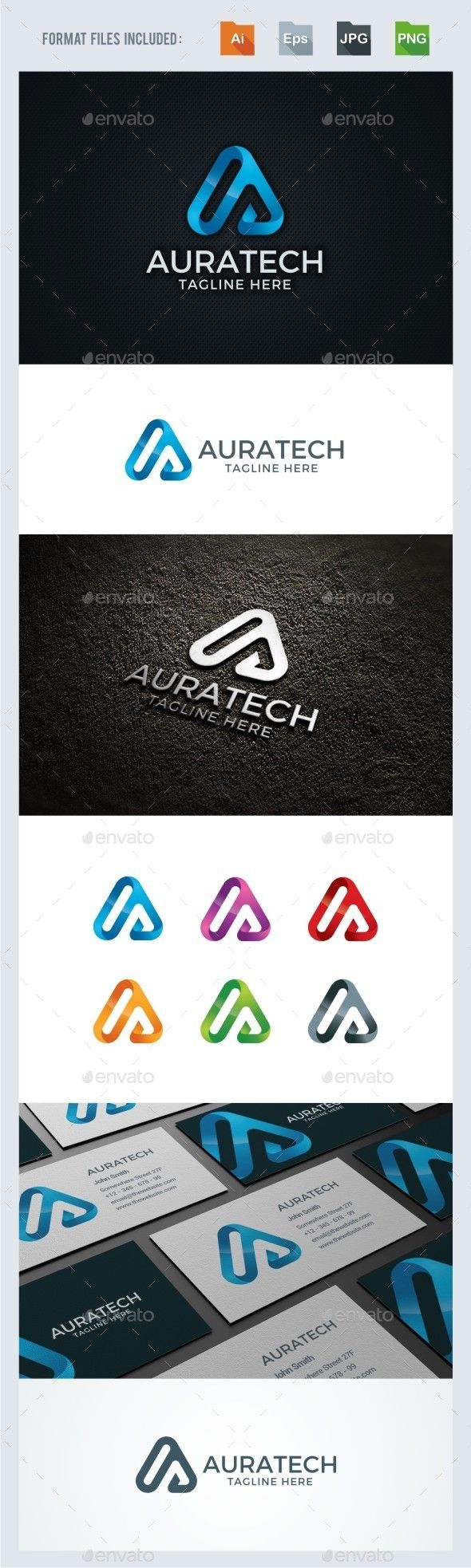 A Letter - Technology Logo Template by BeLoveArt A Letter  Technology Logo TemplateLogo is made with vectors for easy resizing and customizing  all texts can be rewritten even You