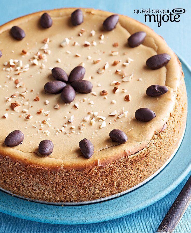Gâteau au fromage double café #recette