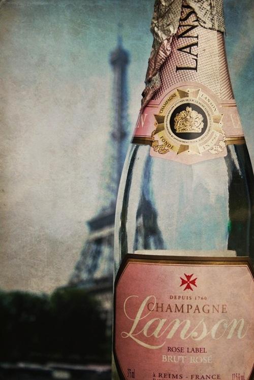 ChampagneRose, Paris, Inspiration, Eiffel Towers, Pink Champagne, Bubbles, France, Bottle, Drinks
