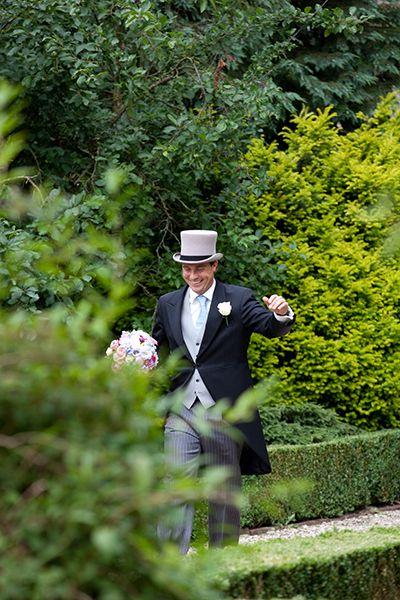 Bruidegom komt aan