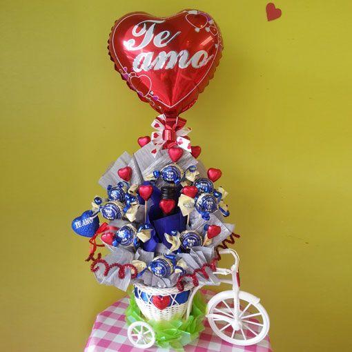 Pasi n dulce arreglo de dulces detalles para regalar for Arreglos de mesa con dulces