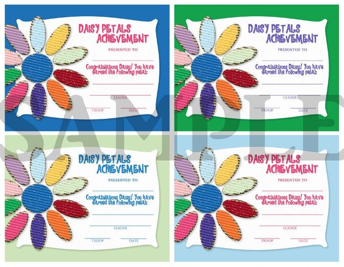72 best Girl Scout Certificates images on Pinterest ...