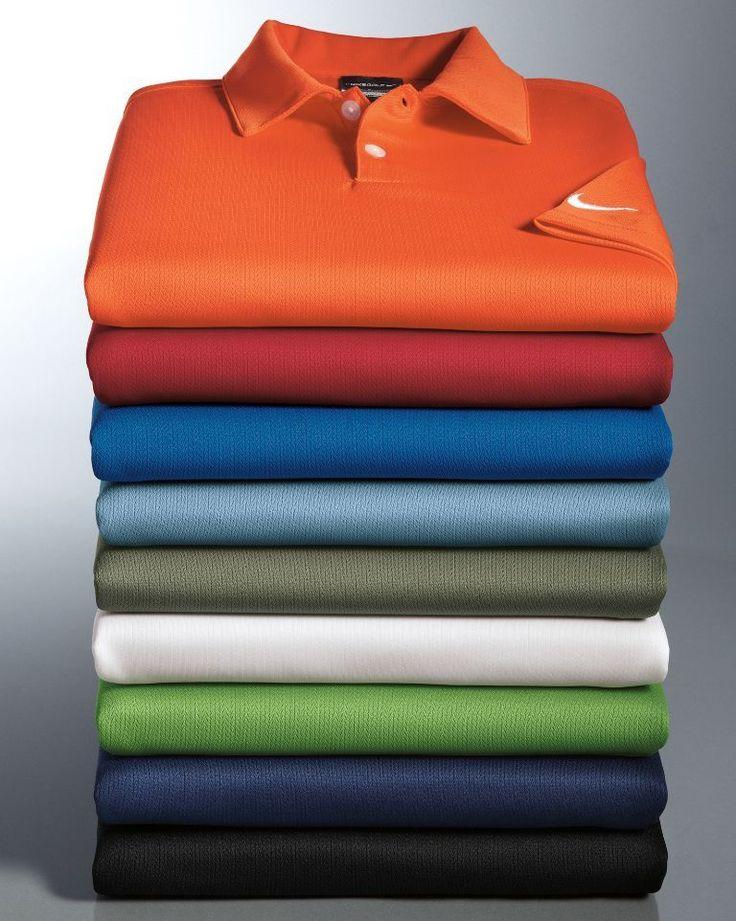 NIKE GOLF Mens Dri-Fit Polo Sport Shirts NEW