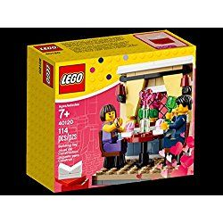 LEGO Valentine's Day Valentines Day Dinner Set #40120