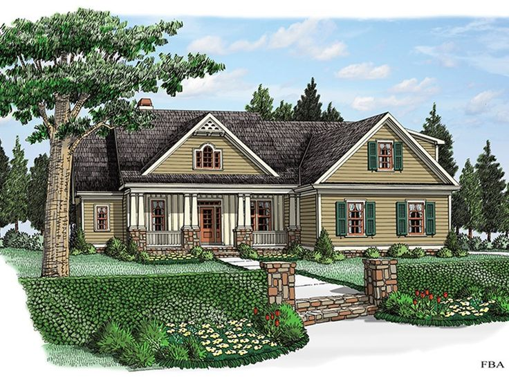 ePlans Cottage House Plan Cottage In