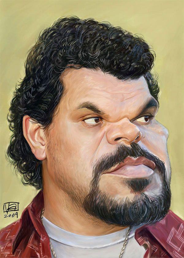 Caricatura de Luis Guzmán.
