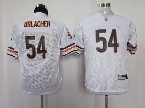 Bears #54 Brian Urlacher White Stitched Youth NFL Jersey