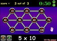Times Tables Games - Hit the Button