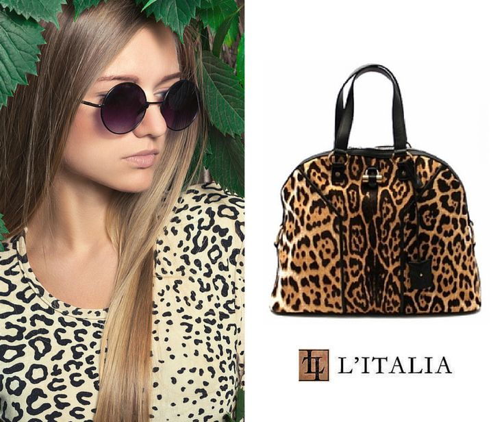 Our YSL Leopard Muse Bag is a traditional style with a modern ...