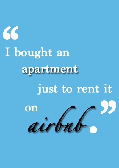 Can you make a profit renting out an apartment on Airbnb--and should you?