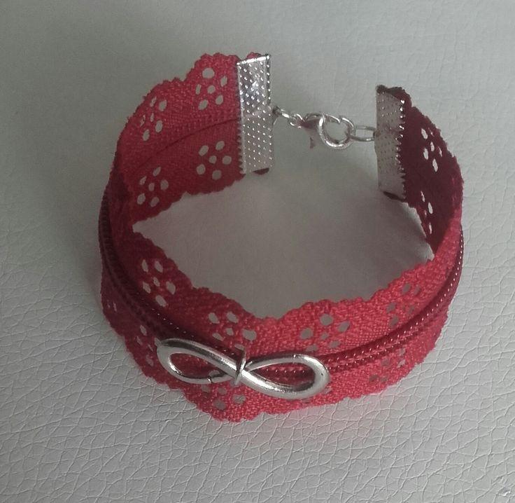 1000 id es propos de bracelet fermeture clair sur pinterest zipper jewelry bracelet. Black Bedroom Furniture Sets. Home Design Ideas