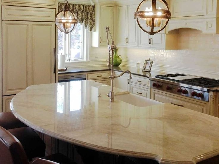 27 best taj mahal quartzite images on pinterest dream kitchens kitchen counters and kitchen ideas - Quarzite piano cucina ...