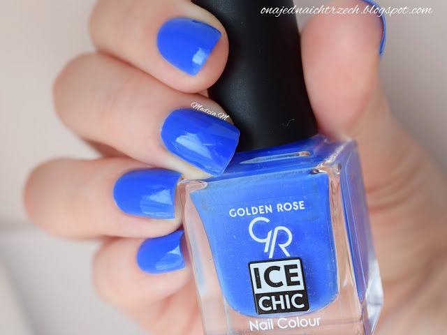 Ona jedna, a ich trzech: Golden Rose Ice Chic 76 - swatch