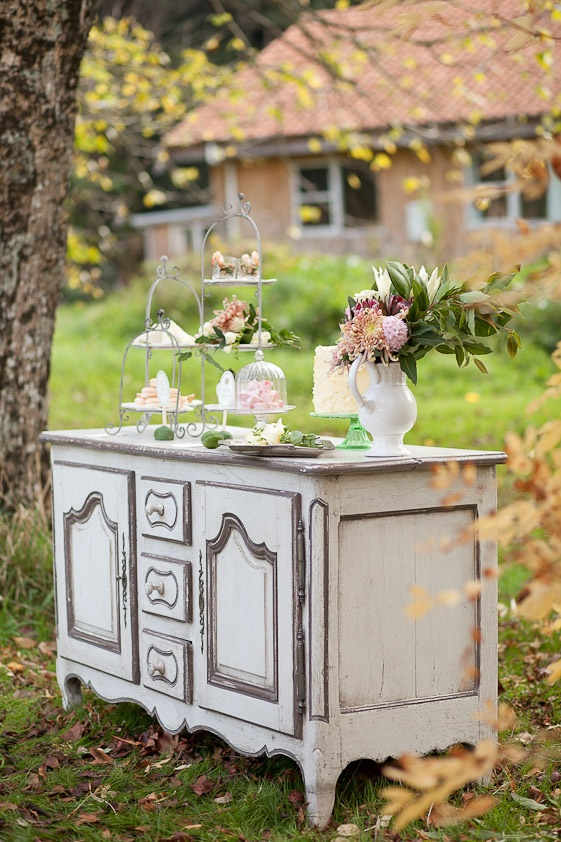 Wedding inspiration and ideas from MAG rouge - brunch buffet ideas by Judit Meron