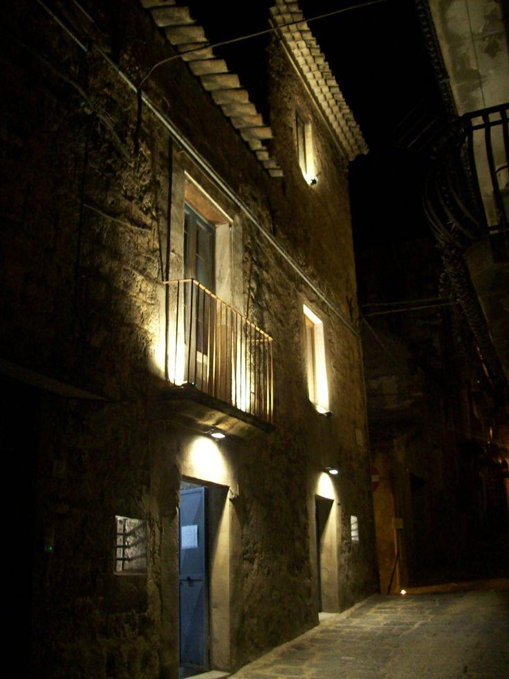 La casa museo Caripa illuminata per la notte dei musei