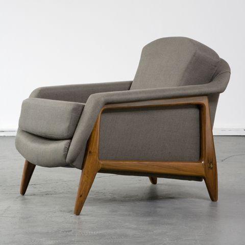 Sergio Rodrigues, Stella lounge chair, 1956