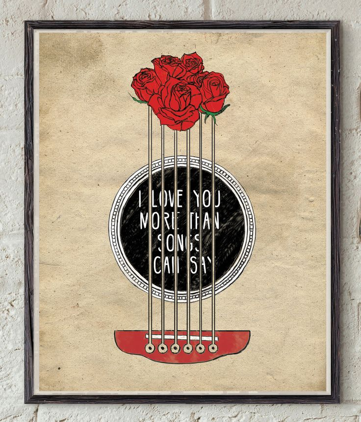 Lyrics Quote - John Mayer - All We Ever Do Is Say Goodbye - Love Song - Roses Art - Song Quote - Guitar Wall Art - Song Lyrics - Love Quote by Lepetitchaperon on Etsy