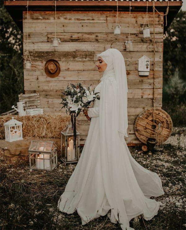 للمحجبات أجمل تصاميم فساتين زفاف 2019 Wedding Dresses Dresses Fashion