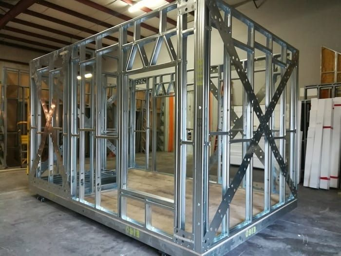 All of NexGen's structures begin with manufactured steel thermal insulated frames for the building envelope, cold-formed steel truss…