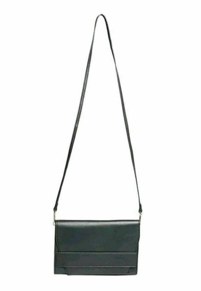 b1a7410e1 NEW $58 Summer & Rose Celine Crossbody Bag Clutch Vegan Leather Black  FabFitFun #SummerRose #
