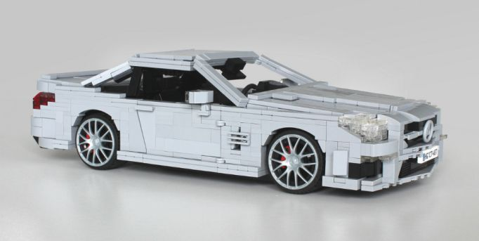 Lego Mercedes-Benz SL63 AMG