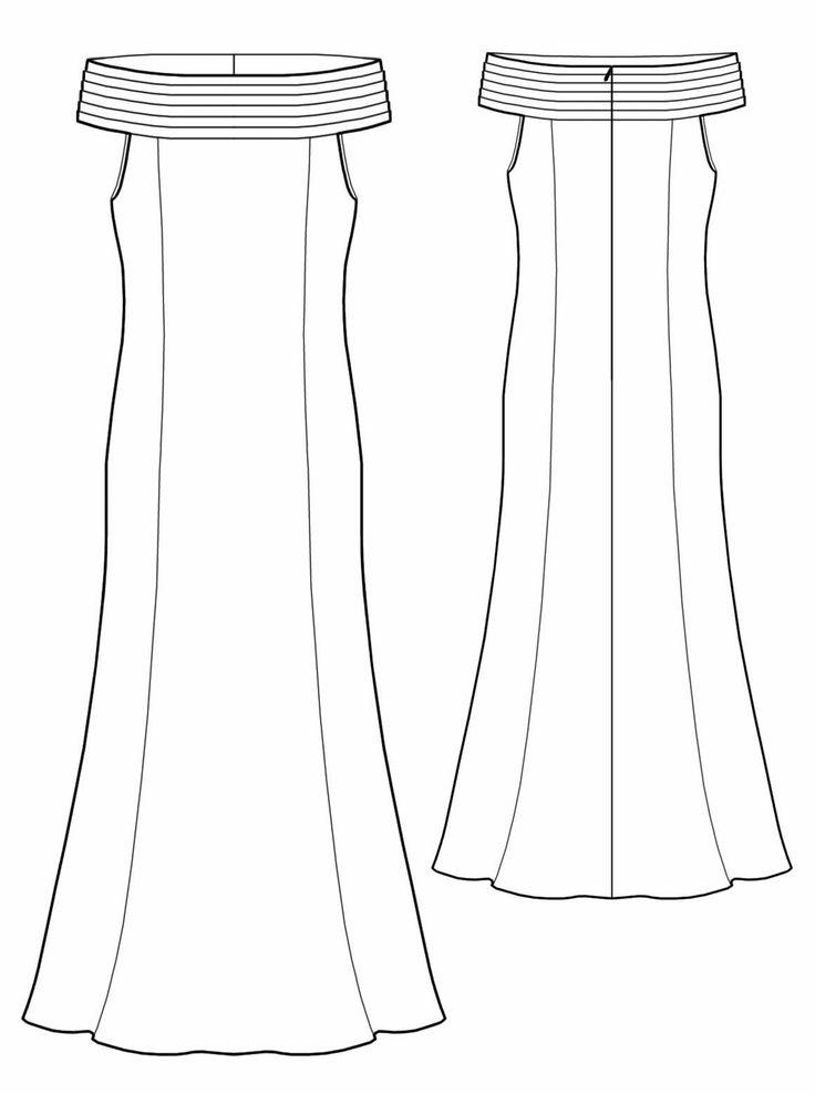 16 best Lekala images on Pinterest | Gowns, Women\'s dresses and ...