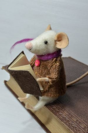 Needle Felted Mouse Tutorial                                                                                                                                                                                 More