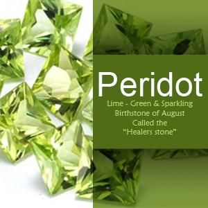 Gemstone of the Month of August – Peridot.
