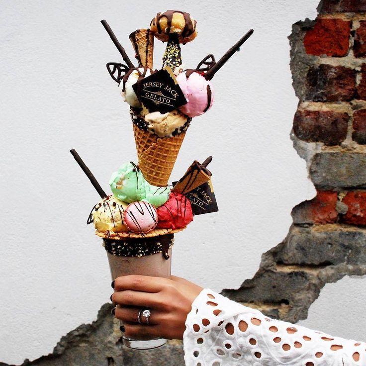 @aspoonfulofsisters are obsessed with the new Mostro Ice-cream & Milkshake from @jerseyjackgelatoaustralia upgrade from single to double scoop! https://phlanx.com   #dessert #phlanx #icecream #milkshake #perthdesserts #foodadventures #gelato #dessert #icecream foodblogger #influencer #socialmedia #socialmediamarketing #marketing #social