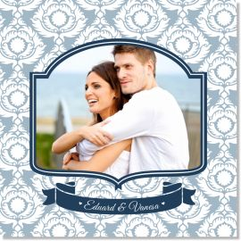 Invitatie nunta Royal Blue